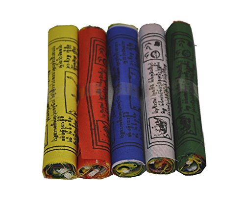 Dharma Store - Tibetan Buddhist Prayer Flags - Made by Tibetan Refugees - Pack of - Make Prayer Tibetan Flags