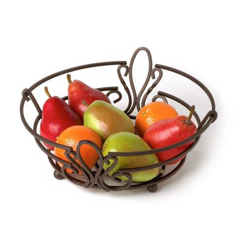 Spectrum Diversified Patrice Fruit Bowl, Bronze