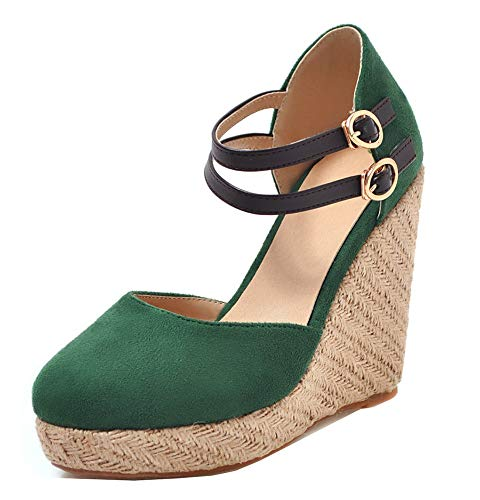 Easemax Femme Outdoor Sandales Chaussure Vert Rond Compensée Bout xdCBQoeWrE