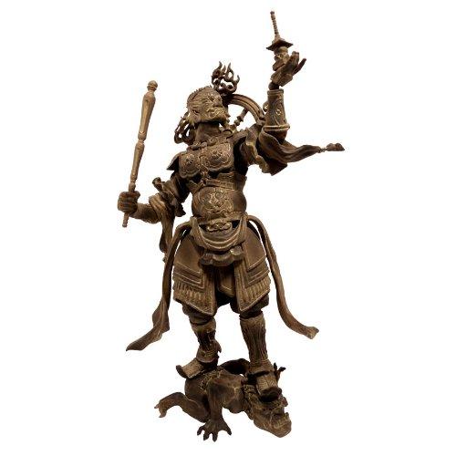 Kaiyodo Takeya Revoltech Action Figure: #001 Tamonten Wooden Version