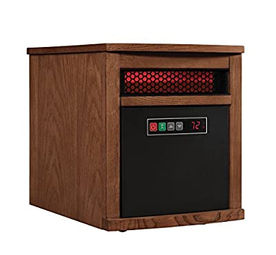 Duraflame 9HM8101-O142 Portable Electric Infrared Quartz Heater