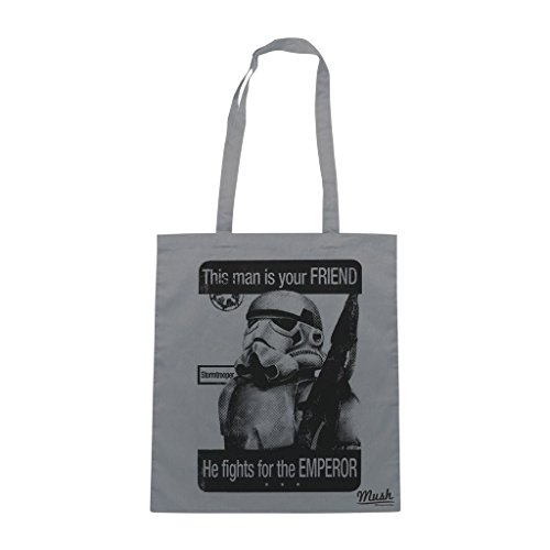 Borsa Stormtrooper Amico Star Wars - Grigia - Film by Mush Dress Your Style