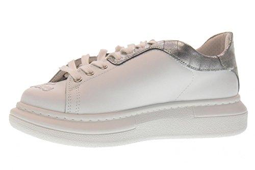 Basse Donna Bianco argento 1895 Star Piattaforma Bianco 2 argento Sneakers 2sd Tqpw55t