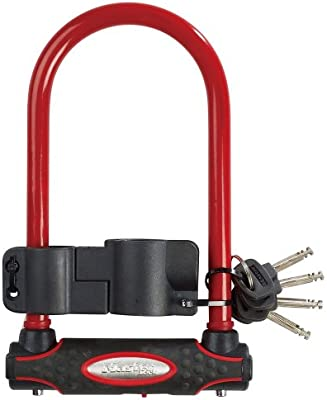 Master Lock Wide Hardened Steel U-Lock with Shackle Length