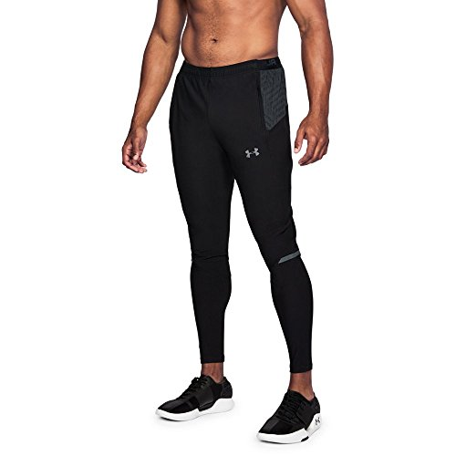 Under Armour Men's Accelerate Training Pants, Black (001)/Graphite, Small