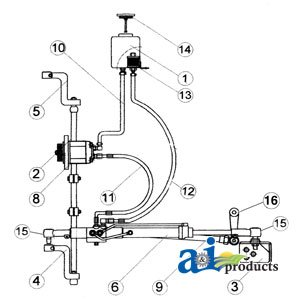 amazon com ford tractor power steering conversion kit vpj4042 2000amazon com ford tractor power steering conversion kit vpj4042 2000 3000 3600 3610 4100 garden \u0026 outdoor
