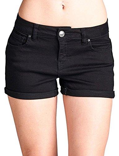 Basic 5 Pocket Denim Short - 1