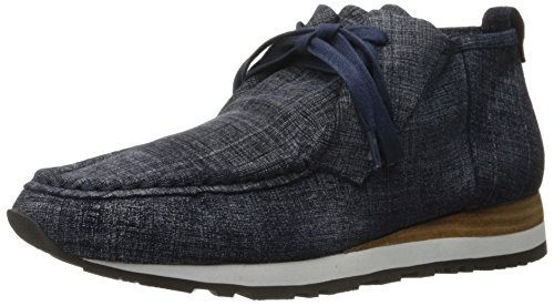 10 Crosby Womens Jordie Fashion Sneaker Indigo Suede