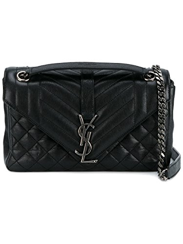Saint Laurent Women's 428125Cu0h41000 Black Leather Shoulder Bag