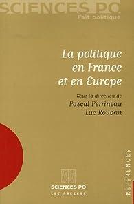 La politique en France et en Europe par Pascal Perrineau