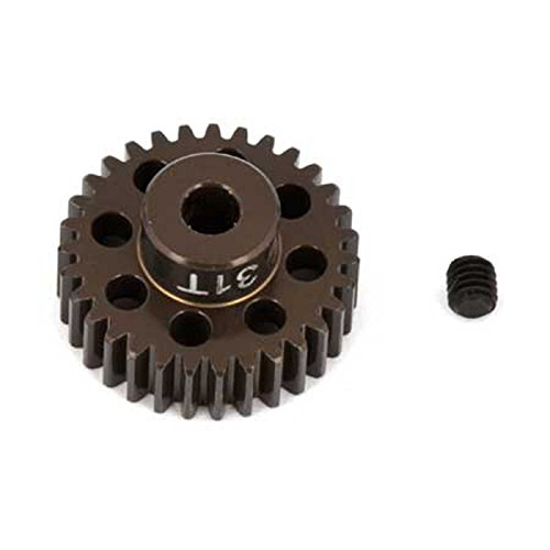 Team Associated 1349 Factory Aluminum 31T 48P 1/8 Shaft Pinion Gear