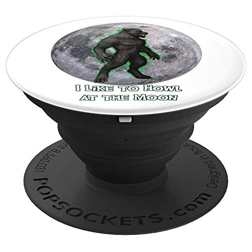 Werewolf I Like to Howl at the Moon - PopSockets Grip and Stand for Phones and Tablets