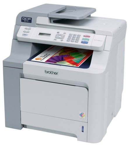 Brother DCP-9040cn Color Laser Copier and Printer with Built-in Ethernet Network ()