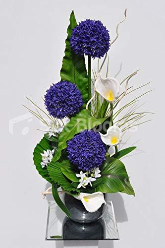Artificial-Purple-Silk-Allium-and-Calla-Lily-Flower-Arrangement-wWhite-Mitsumata-and-Leaves
