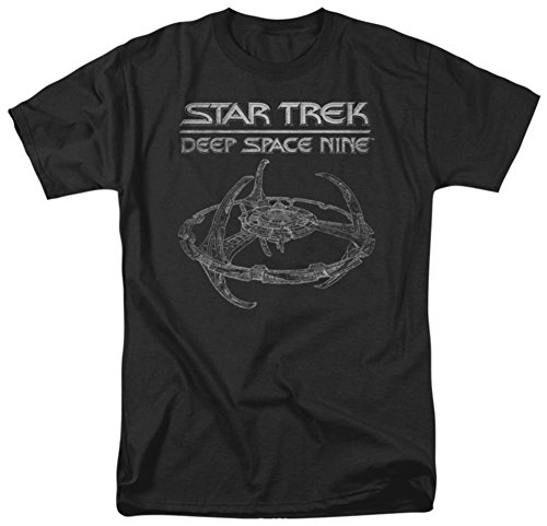 [Star Trek - Deep Space 9 Station T-Shirt Size S] (Leonard Mccoy Costume)