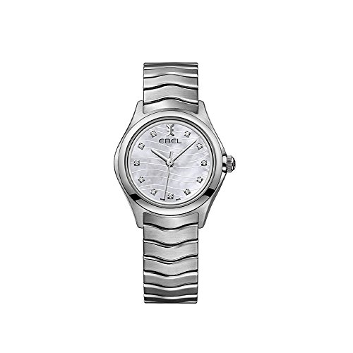 Ebel Wave Mother of Pearl Diamond Dial Ladies Watch 1216267