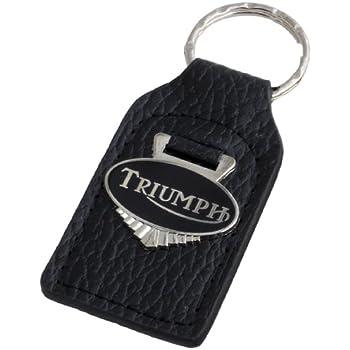 Amazon.com: Triumph Shield (Blue/White) Leather and Enamel ...