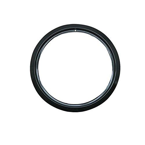 (Range Kleen P-R6-GE Style D 6-Inch Heavy Duty Trim Ring, Black Porcelain)