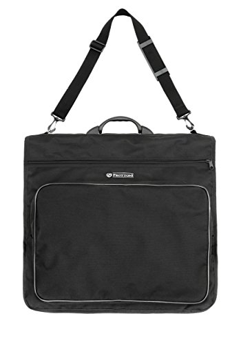 Prottoni 45' Garment Bag - Metal Frame - Suit Bag with Polymer Handle - Carries Multiple Suits