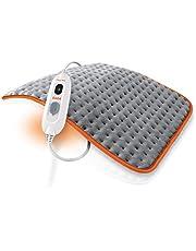 Daga Flexy-Heat Colors 2 Verwarmingskussen, microvezel, ultrazacht, grijs en oranje, 45 x 35 cm
