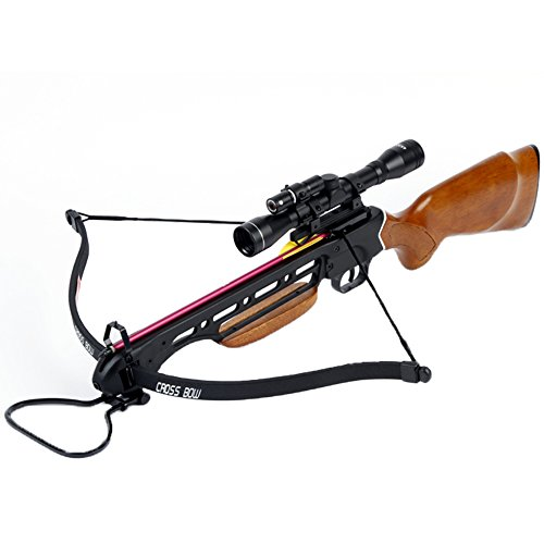 Manticore Avalanche Trailblazer Crossbow Wooden Stock 150-lb, One Size