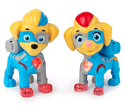 Paw Patrol Mighty Paws Super Paws Twins paquete de 2