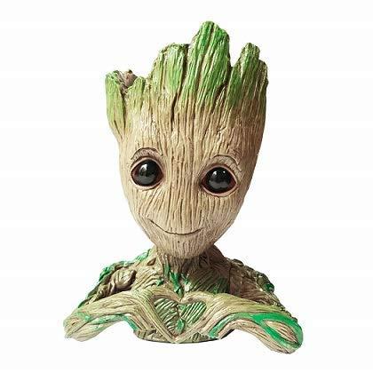 Groot Flowerpot Treeman Baby Groot Action Figures - Guardians of The Galaxy Flowerpot Baby Cute Model Toy Planter Pen Pot Best Gifts