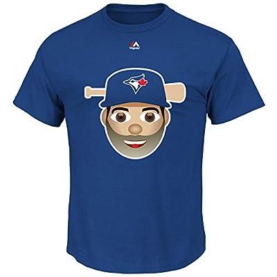 Jose Bautista Toronto Blue Jays #19 MLB Youth Emoji Name & Number T-Shirt (Youth Large 14/16)