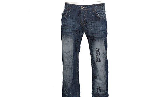 Kosmo Lupo Clubwear 1211KM Star Jeans Vintage Denim