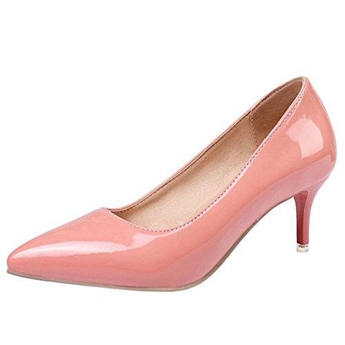 6cm Slip Mujer heel Formal Tacon Colors On 6 Pink Zanpa Zapatos vdRwnn