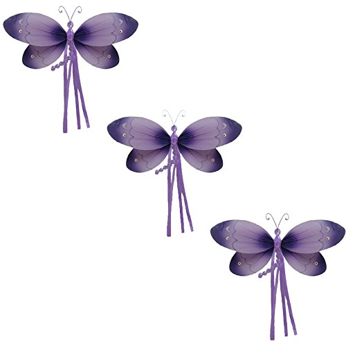 Dragonfly Hanging Nursery (Riley Dragonfly Decoration -Purple-small/7
