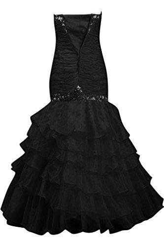 TOSKANA BRAUT - Vestido - Sin tirantes - para mujer negro