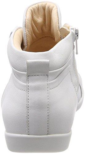 Pensare! Signore Anni_282058 Alta Bianco Sneaker (bianco 96)