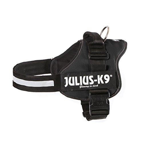 Julius K9 Powergeschirr Gr. 2 - L bis XL: 71 bis 96 cm, schwarz