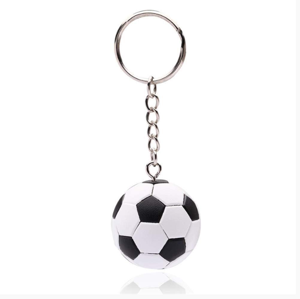 Nuevo Fútbol Estereoscópico Llavero Moda Deporte Fútbol Pelota ...