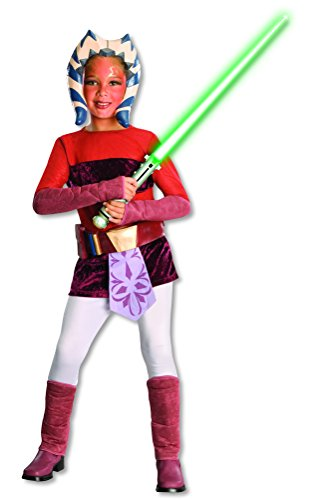 Ahsoka Tano Costume Child (Star Wars Deluxe Ahsoka Tano Child's Costume, Medium)