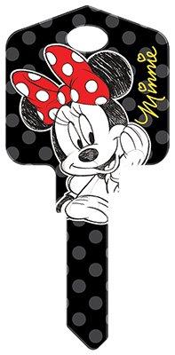 (Hillman Fasteners 87651 Disney Key, SC1 Minnie Mouse Painted Key Blank)