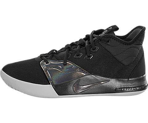 Nike Men's PG 3 Basketball Shoes (10, Black/Black)