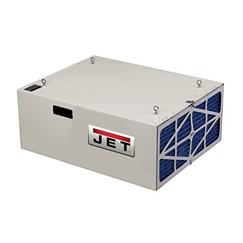JET 708620B AFS-1000B 550/702/1044 CFM 3-Speed Air Filtration System with Remote and Electrostatic Pre-Filter (Best Shop Air Filtration System)