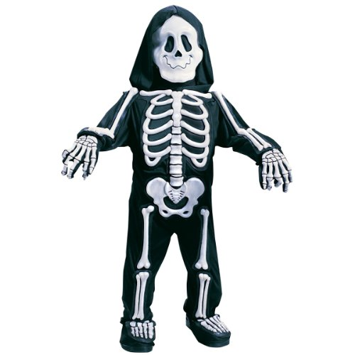 Fun World Costumes Baby Boy's Totally Skelebones, Black/White, (Skeleton Costume For Kids)
