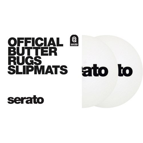 SERATO 7'' Serato Butter Rug Slipmat (black Wit