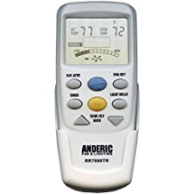 """Anderic Replacement for Hampton Bay CHQ7096T with """"Reverse"""" key Thermostatic Remote Control for Hampton Bay Ceiling Fans (FCC ID: CHQ7096T, UC7096T, CHQ8BF7096T, CHQ8BT7096T) - RR7096TR"""