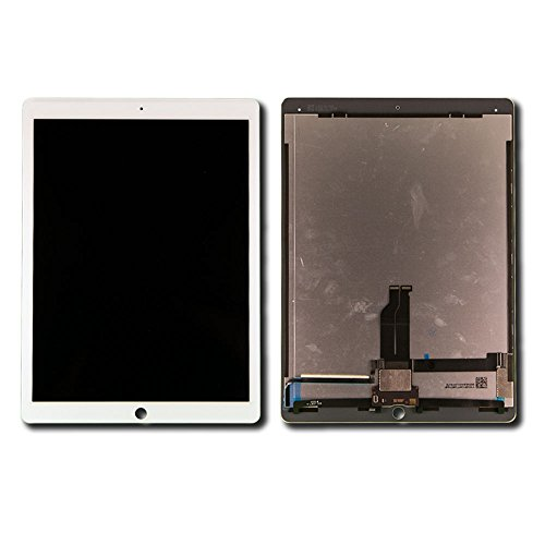 Touch Screen Digitizer and LCD for Apple iPad Pro 12.9'' - White - Includes IC Chip by Group Vertical