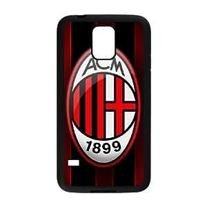 Samsung Galaxy S5 Cell Phone Case Black AC Milan Phone Case Cover 3D Durable CZOIEQWMXN20209