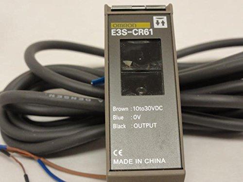 Omron E3S-CR61 Photo Sensor/Switch, 10-30VDC, 2M Cable