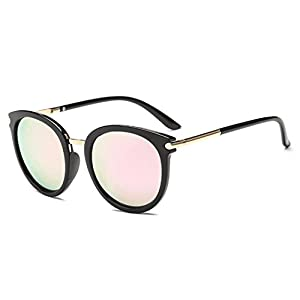 Sunglasses,YJYDAAD Women Men Vintage Clout Cat Eye Unisex Sunglasses Rapper Grunge Glasses Eyewear (D)