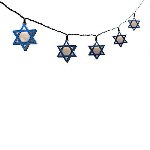 Outdoor Hanukkah Lights in US - 2