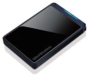 Buffalo MiniStation Stealth 1 TB USB 2.0 Portable Hard Drive - HD-PCT1U2/BB