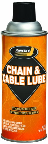 Johnsen's 4723-12PK Chain and Cable Lube - 10 oz., (Pack of - Spray Chain Lube