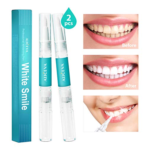 Professional Grade Teeth Whitening Pen – Safe and Gentle, 35 Carbamide Peroxide, Gel Made in USA, Painless, No Sensitivity, with Natural Mint Flavor